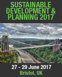 Sustainable Development and Planning 2017