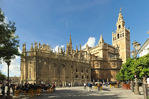 Sevilla Cathedral Southeast