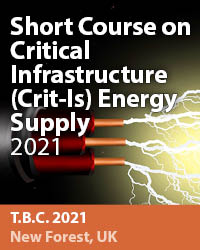 Short Course on Critical Infrastructure (Crit-Is) Energy Supply 2021