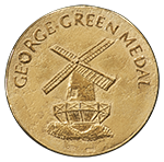 green medal front