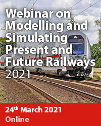 >Webinar on Modelling and Simulating Present and Future Railways